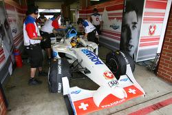 Tom Dilman, driver of A1 Team Switzerland