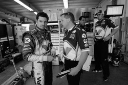 Patrick Carpentier with crew chief Mike Shiplett