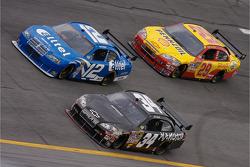 Ryan Newman, John Andretti and Kevin Harvick