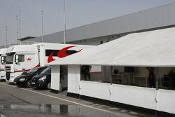 Honda Racing F1 Team, hospitality
