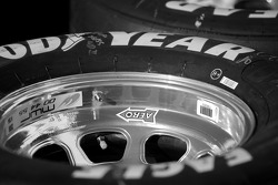 Wheels on the NAPA Toyota of Michael Waltrip