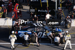 Pit stop for Regan Smith