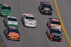 Bobby Labonte and Steve Wallace battle