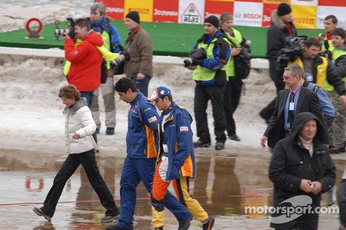 Nelson A. Piquet Yıldızların Yarışı'nı ziyaret ediyor, Moskova