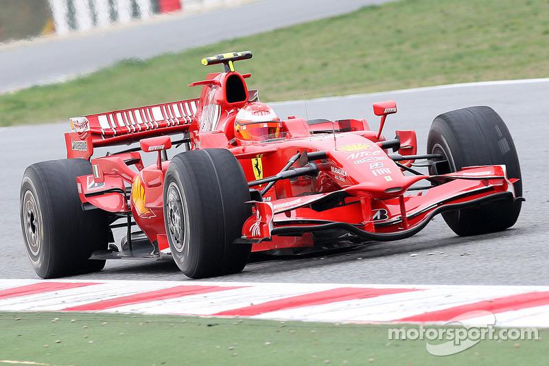2008: test de F1