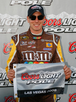 Pole winner Kyle Busch