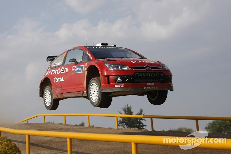 Sébastien Loeb y Daniel Elena, Citroen Total WRT, Citroen C4 WRC