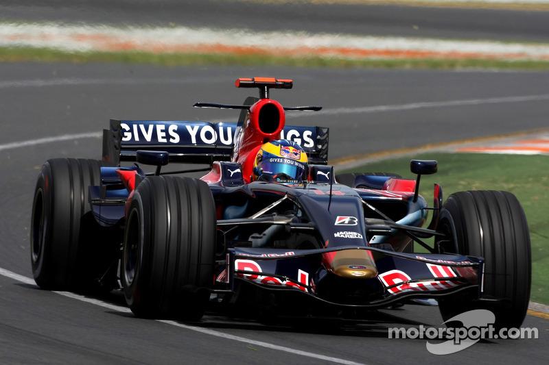GP Australië 2008, Sebastien Bourdais, Scuderia Toro Rosso
