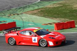 Kessel Racing Ferrari 430 GT3: Jose Balbiani, Thomas Wille, Gilles Vannelet, Nicolas Bianchet, Henri Moser