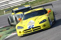 #42 La Torre Motorsport Dodge Viper Competition Coupe: Gabriele Sabatini, Robert Hissom