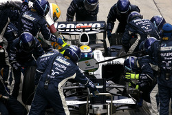 Nico Rosberg, Williams F1 Team during pitstop