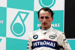 Podium: second place Robert Kubica