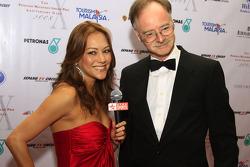Gala Dinner: ESPN's Paula Malai Ali with Steve Slater