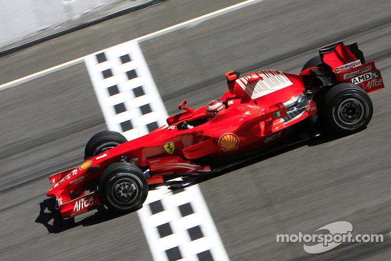 2008: Kimi Räikkönen, Ferrari F2008