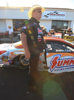 Team owner Ken Black in staging lanes