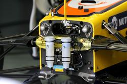 Renault F1 Team, R28, Suspension detail