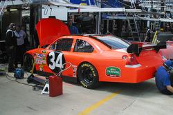 Work on John Andretti's car