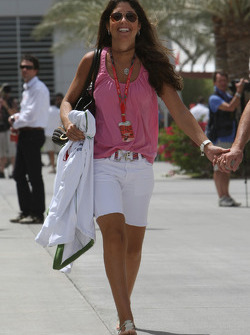 Silvana Barrichello, Wife of Rubens Barrichello