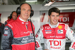 Dr Wolfgang Ullrich and Mike Rockenfeller