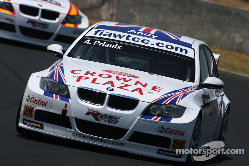 Andy Priaulx, BMW Team UK, BMW 320si WTCC