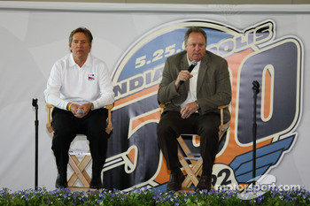 Indy Racing League Presidents Terry Angstadt and Brian Barnhart