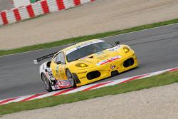 #96 Virgo Motorsport Ferrari F430 GT: Robert Bell, Gianmaria Bruni