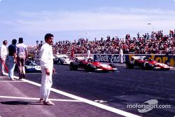 Jackie Stewart op pole