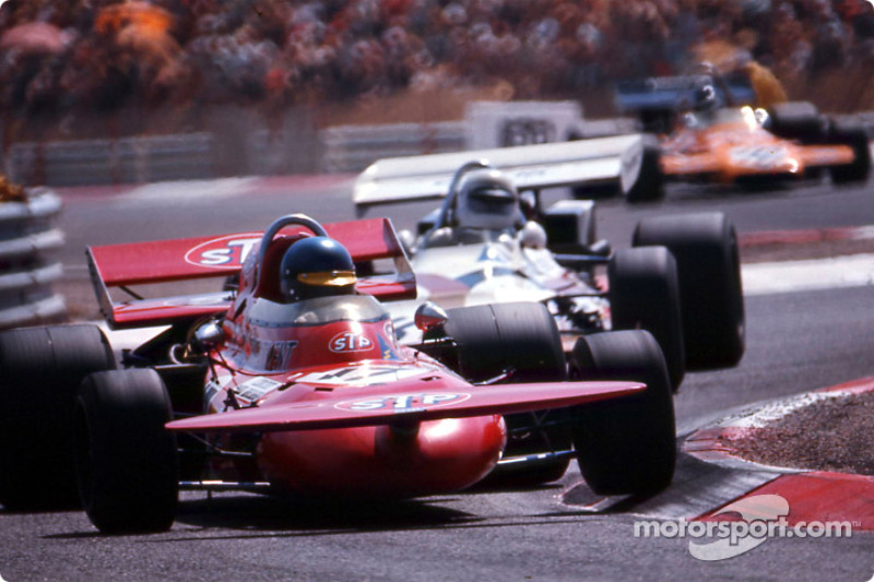 Ronnie Peterson March 711 At French Gp