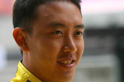 Aaron Lim, pilote de A1 Equipe de Malaisie