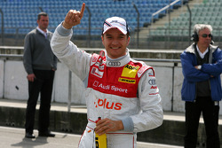 Pole position for Timo Scheider, Audi Sport Team Abt Sportsline