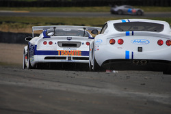Viper and Ginetta G50 racing