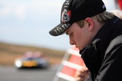 James Sutton - CR Scuderia on pitwall