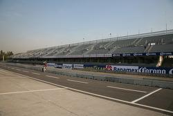 Autodromo Hermanos Rodriguez pit area