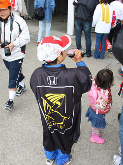 Young fans at Motegi