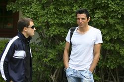 Franck Perera and Enrique Bernoldi