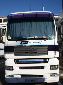 WilliamsF1 Team truck