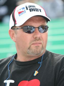 Fans at Kansas Speedway