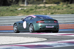 Aston Martin N24 GT4 on track