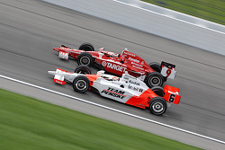 Scott Dixon and Ryan Briscoe