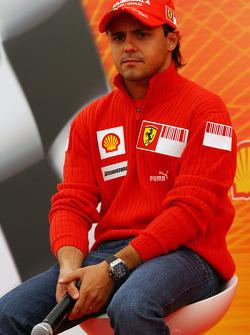 Felipe Massa, Scuderia Ferrari, Shell Press Conference