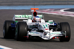 Alexander Wurz, Test Driver, Honda Racing F1 Team, RA108 with new font wing