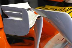 Renault R28 body work detail