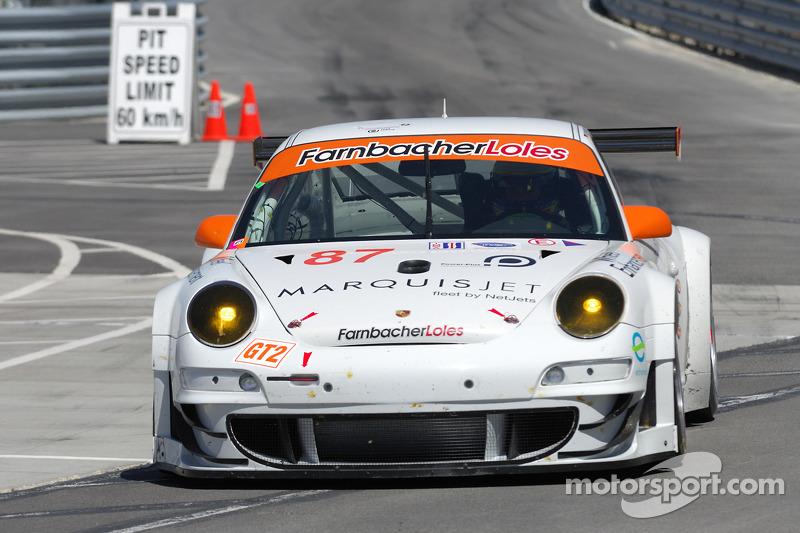 #87 Farnbacher Loles Porsche 911 GT3 RSR: Dirk Werner, Marc Basseng