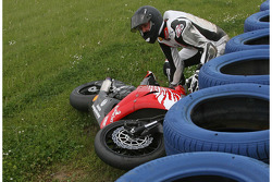 Michael Schumacher, Crashes out of the race