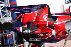 Scuderia Toro Rosso, engine cover