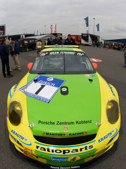 Manthey Racing Porsche 911 GT3 RSR at technical inspection