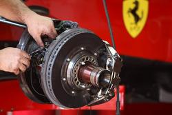 Scuderia Ferrari, Brake detail