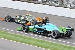 Townsend Bell racing Ryan Hunter-Reay
