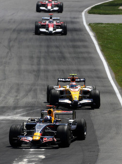 David Coulthard, Red Bull Racing, Nelson A. Piquet, Renault F1 Team