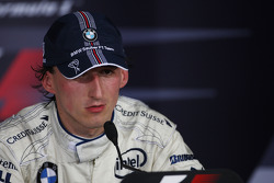 Press conference: race winner Robert Kubica